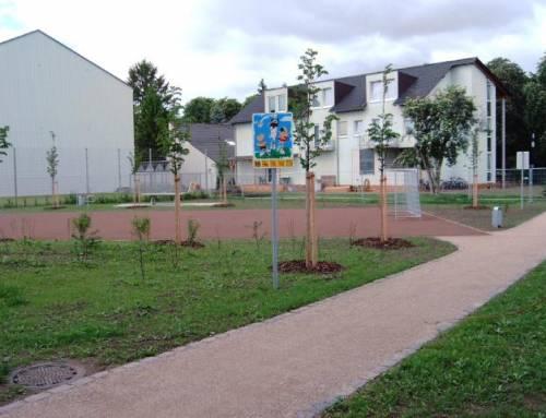 Bolzplatzanlage in Frankenthal, Schlachthausweg