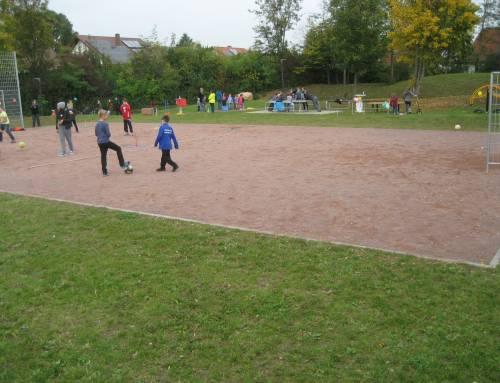Bolzplatz mit Spielpark in Lingenfeld