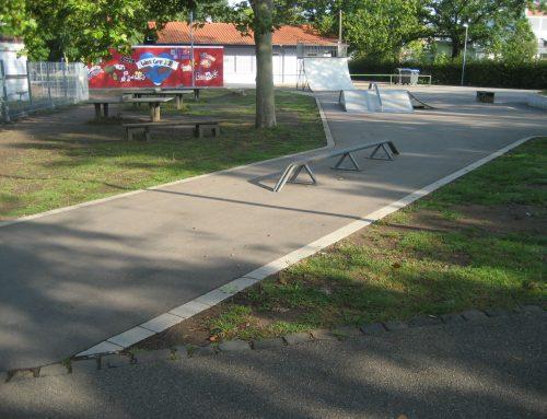 Bau einer Skateranlage in Dudenhofen