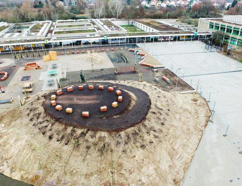 Naturnaher Schulhof in Schifferstadt